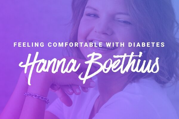 interview with hanna boëthius about feeling comfortable with diabetes