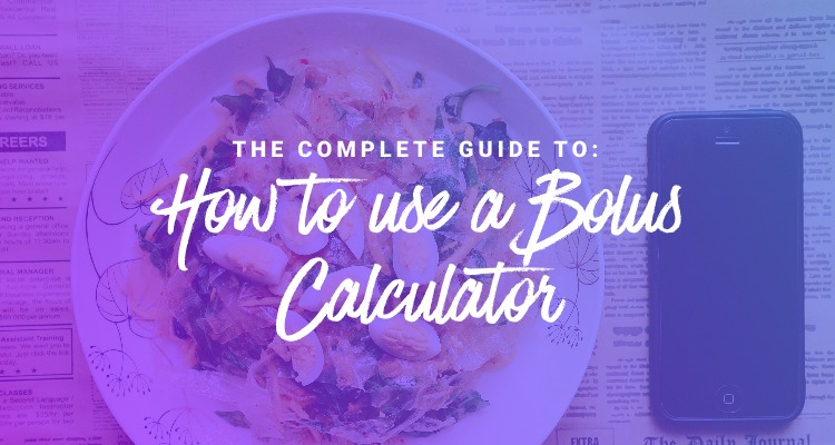how to use a bolus calculator