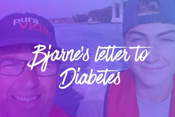 Bjarne's personal letter to diabetes