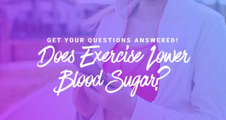 exercise and blood sugar