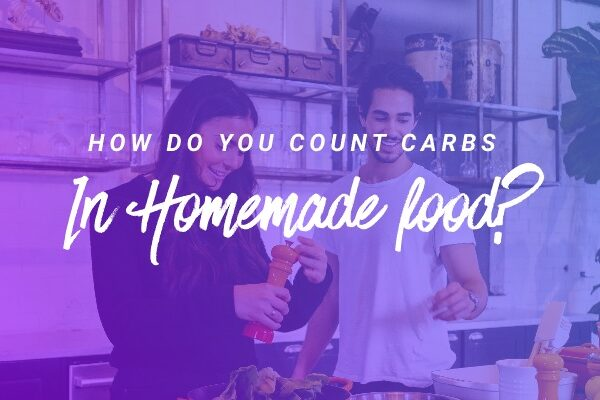 How do you count carbs in homemade food? header