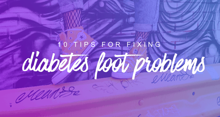 10 tips for fixing diabetes foot problems - Hedia