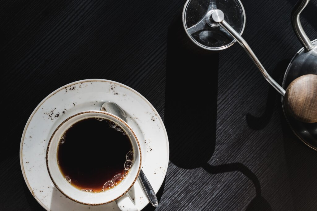 Coffee without sugar